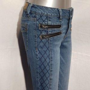 AEO Stretch Jegging Zipper Jeans